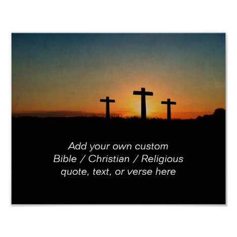 Create your own custom Bible / Religious Quote Poster