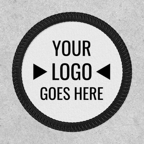 Create Your Own Custom Business Logo Round Patch