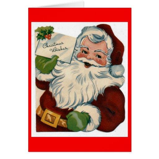 Create your own custom christmas card santa zazzle for Make your own singing christmas card