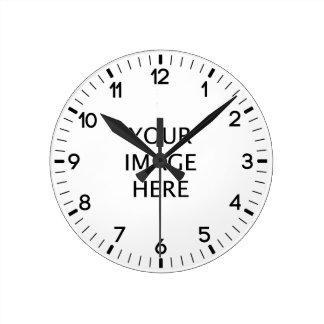 Create Your own custom Round Clocks