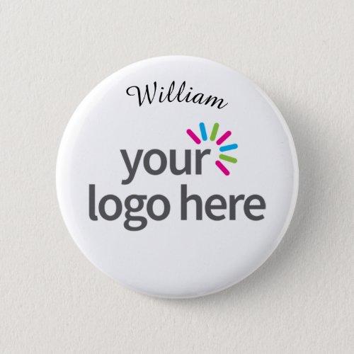 Create Your Own Custom Company Logo Simple Unique Button