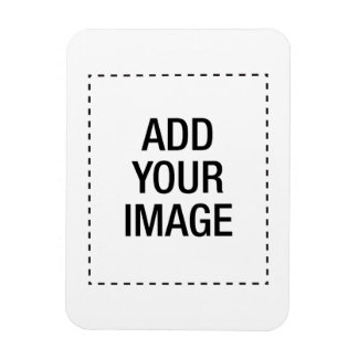 Create your own custom customizeable personalized rectangular photo magnet