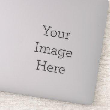 Create Your Own Custom-Cut Clear Vinyl Sticker