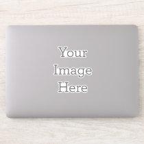 Create Your Own Custom-Cut Vinyl Laptop Sticker