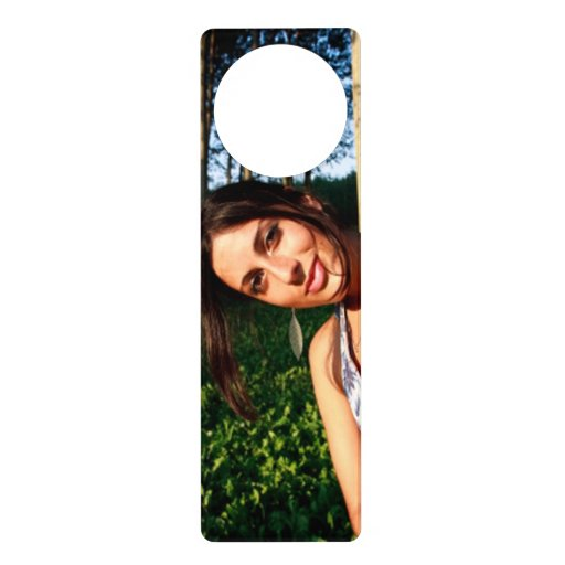 Create your own custom door hanger zazzle for Create your own door