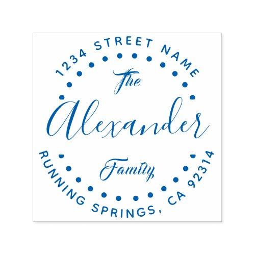Create Your Own Custom Family Name Return Address Self_inking Stamp