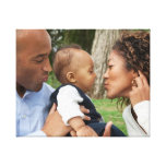 Create Your Own Custom Family Photo Canvas Print at Zazzle