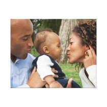 Create Your Own Custom Family Photo Canvas Print