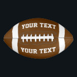 """Create Your Own Custom Football<br><div class=""""desc"""">Create Your Own Custom Football.Add your Name or Other text as desired. A fun gift on Kids Birthdays.</div>"""