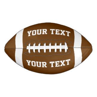 Create Your Own Custom Football