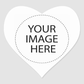 Create Your Own Custom Gifts Heart Sticker