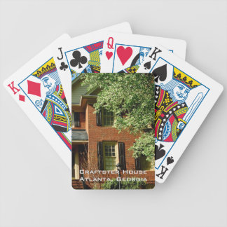 Create Your Own -  Custom House Photo Template Bicycle Playing Cards