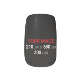 Create Your Own Custom Image Nails Minx Nail Wraps
