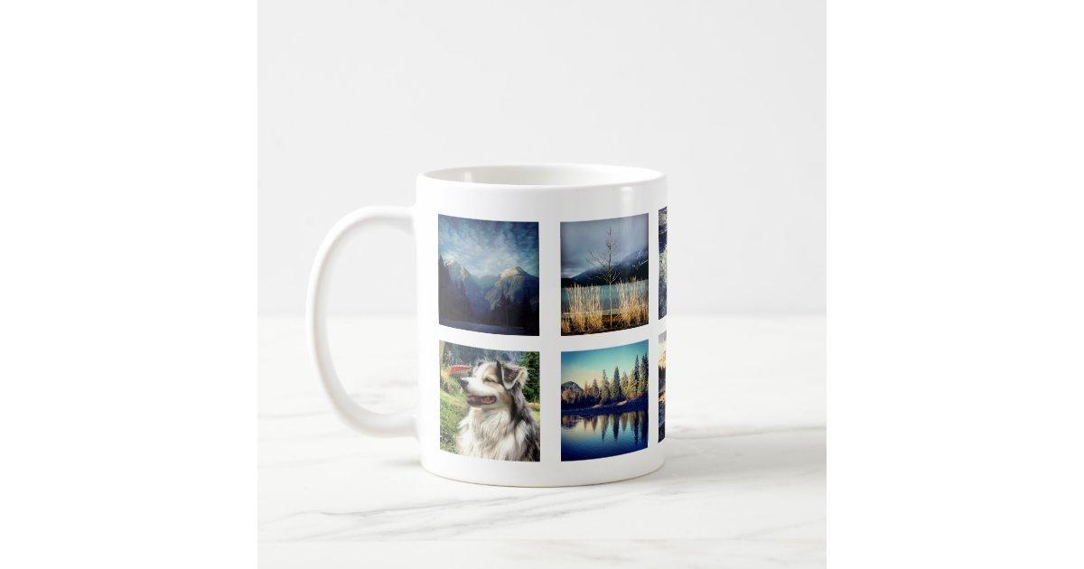 Create Your Own Custom Instagram Photo Coffee Mug Zazzle