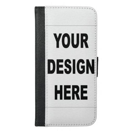 Create your own custom iphone 6 plus wallet case zazzle for How to customize your iphone case