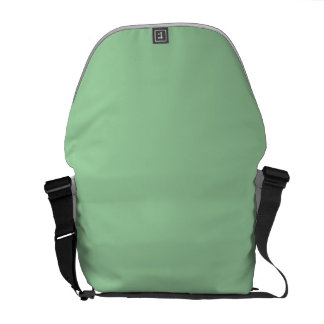 Create Your Own Custom Irish Sea Green Messenger Bag