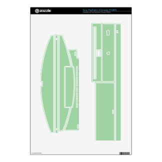 Create Your Own Custom Irish Sea Green PS3 Skin