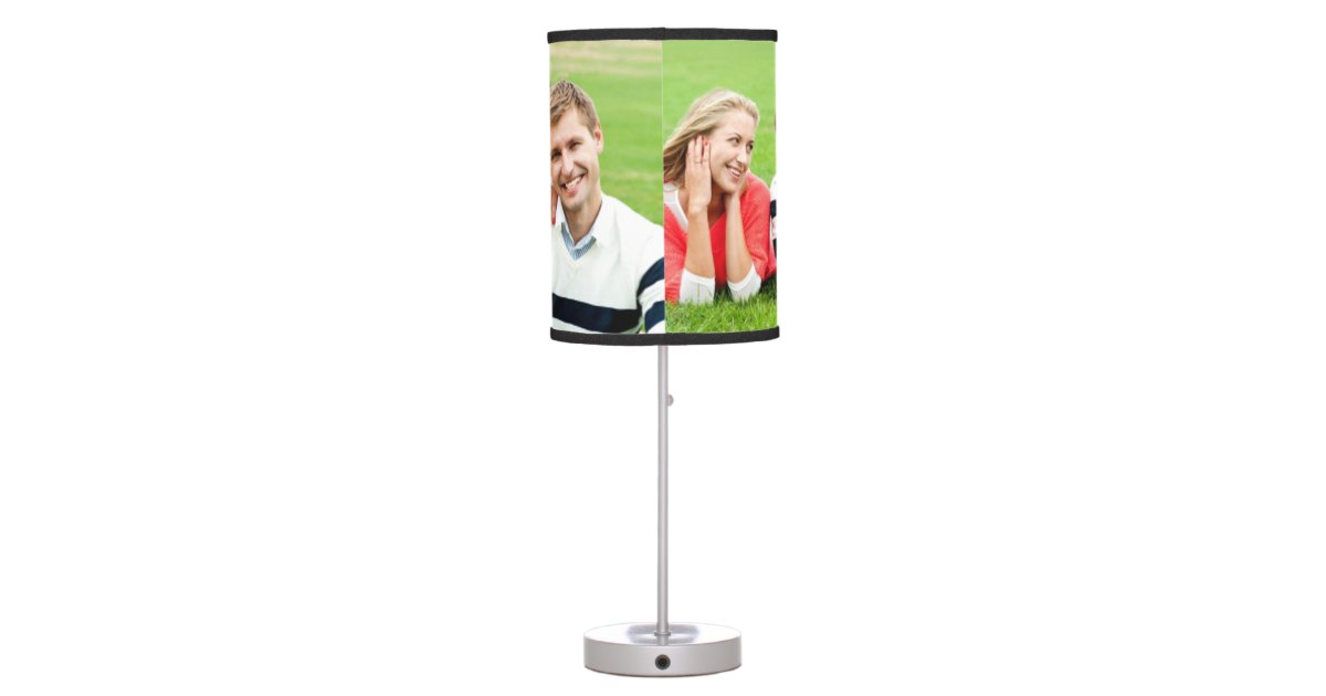 create your own custom lamp shade zazzle. Black Bedroom Furniture Sets. Home Design Ideas