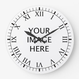 Create Your Own Custom Large Clock