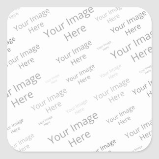 Create Your Own Custom Large Square Matte Stickers