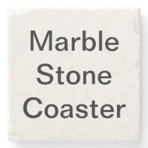 Create Your Own Custom Marble Stone Coaster