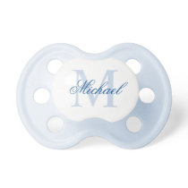 Create Your Own Custom Monogram And Name Pacifier