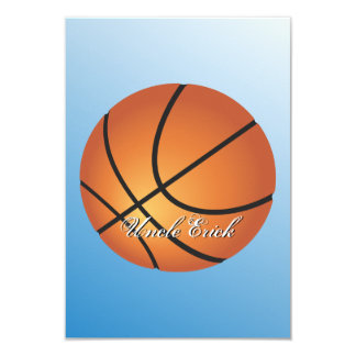 Create your Own Custom Monogram Basketball Card