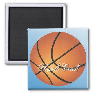 Create your Own Custom Monogram Basketball Magnet