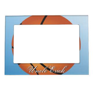 Create your Own Custom Monogram Basketball Magnetic Frame