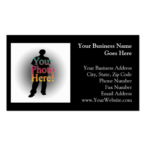 Create Your Own Custom Personalized Photo Business Card ...