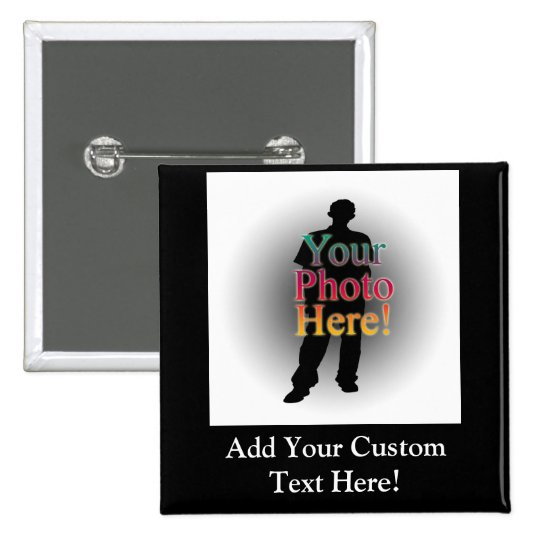 Create Your Own Custom Personalized Photo Button