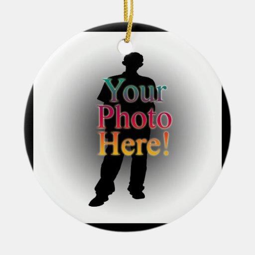 Create Your Own Custom Personalized Photo Ornaments Zazzle
