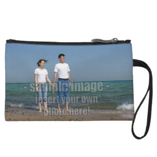 Create Your Own Custom Photo Design Wristlet Wallet