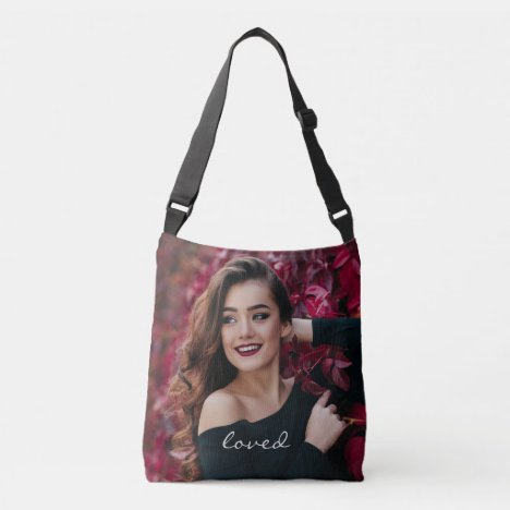 Create Your Own Custom Photo DIY Loved Crossbody Bag