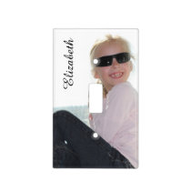 Create-Your-Own- Custom Photo | Light Switch Cover