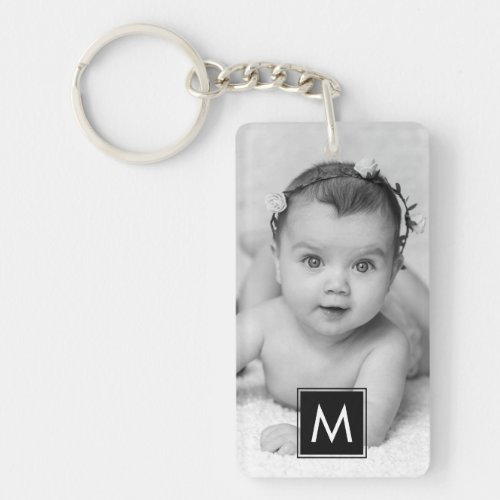 Create Your Own Custom Photo Monogram Keychain