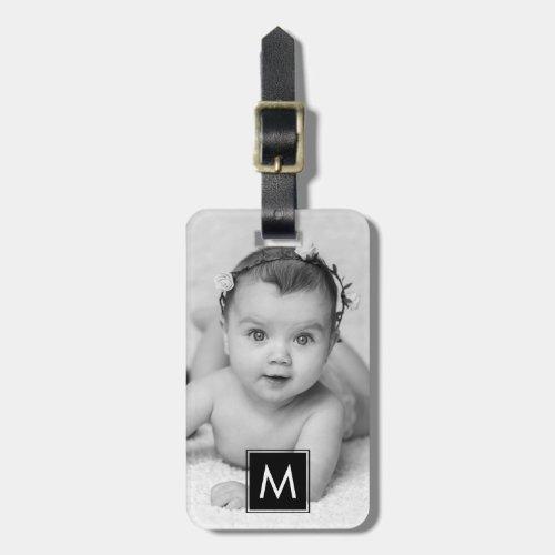 Create Your Own Custom Photo Monogram Luggage Tag