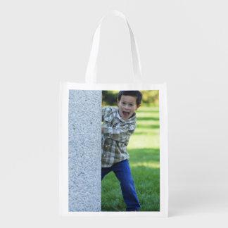 Create Your Own Custom Photo Reuseable Grocery Bag