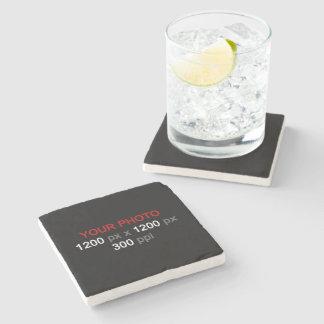 Create Your Own Custom Photo Stone Coaster