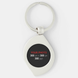 Create Your Own Custom Photo Swirl Keychain