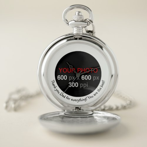 Create Your Own Custom Photo Watch With Message