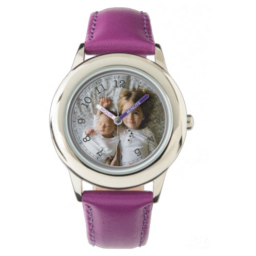 Create Your Own Custom Photo Wrist Watch