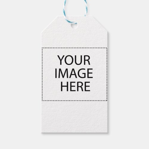 Create Your Own CUSTOM PRODUCT Your Design Here Gift Tags