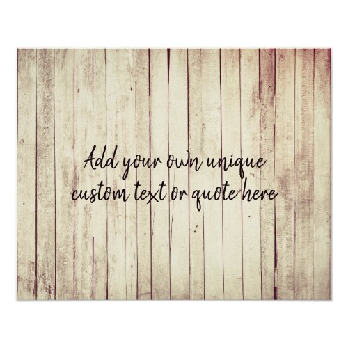 Create Your Own Custom Quote or Text Poster
