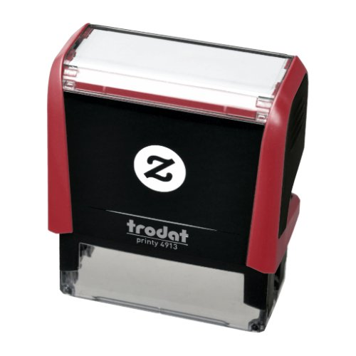 Create your own Custom RED INK Self_inking Stamp