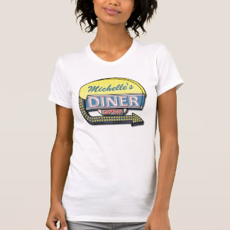 Create Your Own Custom Retro 50's Diner Sign T-Shirt