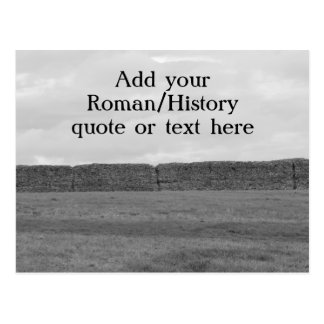 Create your own custom Roman/Historical quote Postcard