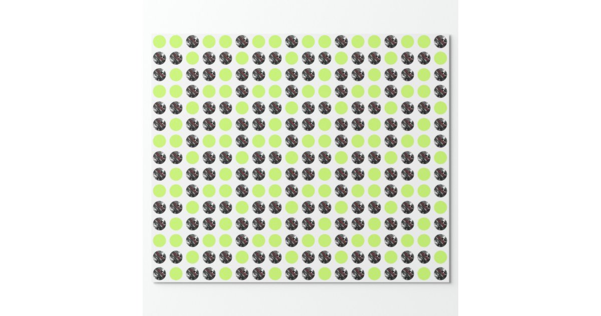 Create Your Own Custom Round Wrapping Paper Zazzle