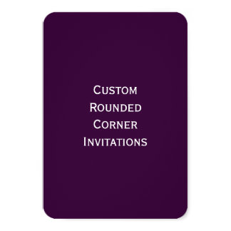 Create Your Own Custom Rounded Corner Invitations