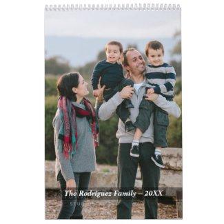 Create Your Own Custom Spanish 2019 Photo Calendar
